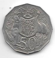*australia 50 Cents   1976  Km  68  Vf+ - Decimale Munt (1966-...)