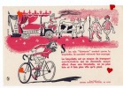 """ZE-Buvard.-Si Les Rois """" Fainéants """" Avaiet Connu La Bicyclette;ils Auraient Retrouvé Laur Courage - Sport"""