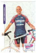 CPM LUDO DIERCKXSENS  COUREUR CYCLISTE CYCLISME VELO  DAIKIN  BELGE - Cyclisme
