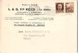 14965 RICCO LA SPEZIA X MILANO - Non Classés