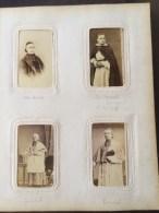 Père Abbé BOURARD, Photo Pierre Petit, CDV Vintage Albumen Carte De Visite Vers 1870 - Photos
