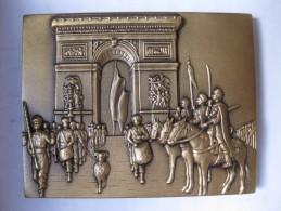 Médaille 1er Régiment Tirailleurs 1945 – 1995 Par MARTINEU -SAUMUR, Serie Limitée - Army & War