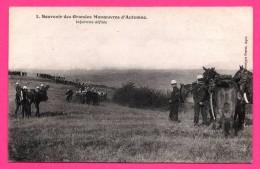 Souvenir Des Grandes Manœuvres D'Automne - Infanterie Défilée - Chevaux - Animée - PERRET - Manoeuvres