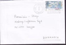 Spain BENALMADENA 1999 Cover Letra DRAGOER Denmark ATM / Frama Label Navidad ´98 - Poststempel - Freistempel