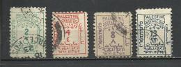 Palestina. 1923_Tasa. Tipografiados - Palestina