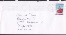 "Spain Slogan Flamme PEDRO DE ALCANTARA 1994 Cover Letra Denmark Tratado Antartico Sello Schiff Ship ""Las Palmas"" - 1991-00 Briefe U. Dokumente"