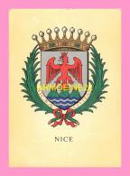 CPM   NICE  Blason - France