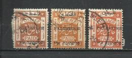 Palestina. 1920-21_Administración Civil. - Palestina