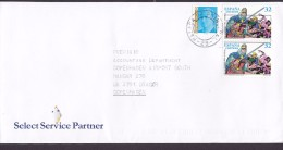 Spain SELECT SERVICE PARTNER, MALAGA 1999? Cover Letra Denmark Cartoon Comics Pair Paare - 1991-00 Briefe U. Dokumente