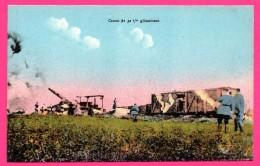 Canon De 32 ème Glissement - Canon - Animée - Colorisée - Manoeuvres