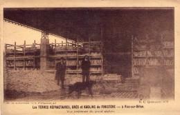 29-RIEC SUR BELON-terre Réfractaires,grès,kaolin Du Finistère- Vue Intérieure Du Grand Sèchoir - Other Municipalities