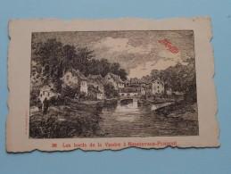 Les Bords De La Vesdre à Nessonvaux-Fraipont ( 38 Maggi ) Anno 19?? ( Zie Foto Details ) !!