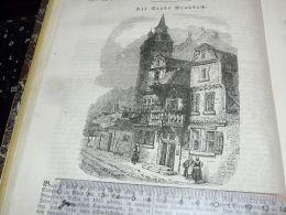 Braubach Germany Engraving Print 1838!!! - Stampe & Incisioni
