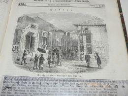 Kanton China Engraving Print 1838!!! - Prints & Engravings