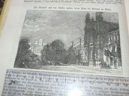 Cadiz Spain Engraving Print 1838!!! - Estampas & Grabados