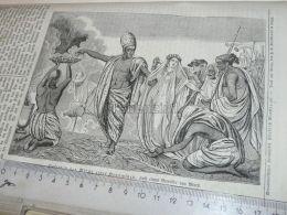 India Brahmin Engraving Print 1838!!! - Prints & Engravings