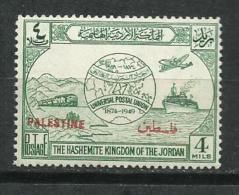 Palestina. 1948_Ocupación Transjordana. - Palestina