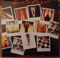 BLACKFOOT - 33 LP ATCO 790218  - VERTICAL SMILES - 1984 - NM/NM - Rock