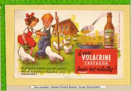 Buvard & Blotting Paper :   Volacrine Sauve Vos Volailles  Enfants Poulets - Animaux