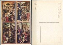 Ak Deutschland  - Treuchtlingen - Marienkirche,church, Eglise - Tafelmalerei - Gemälde, Glasmalereien & Statuen
