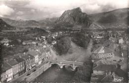 CPSM Tarascon - Pont Sur L´Ariège Et Montagne Du Soudour - Frankrijk