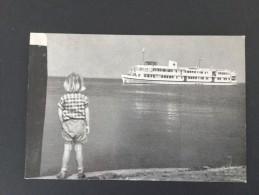 """Rode Kruis Hospitaalschip ,,J.Henry Dunant  """"met Stempel """"Het Nederlandsche Roode Kruis Boottocht 1961 """"--gelopen - Rode Kruis"""