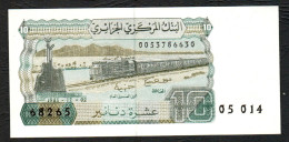 ALGERIA (BANQUE CENTRALE D´ALGERIE) :  10 Dinars - 1983 - P132  - UNC - Algeria