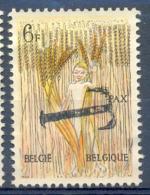 OCB Nr 1252 Opdruk T Taxe Zonder Gom - Sans Gomme - Postage Due