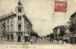 Tunez Tunis CPA Bizerte, La Rue D'Espagne - Tunisia