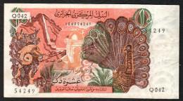 ALGERIA (BANQUE CENTRALE D´ALGERIE) :  10 Dinars - 1970 - P127a  - XF - Sn 104054249 - Algeria