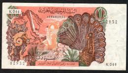 ALGERIA (BANQUE CENTRALE D´ALGERIE) :  10 Dinars - 1970 - P127a  - XF - Sn 108482932 - Algeria