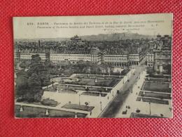 75 Paris Les Jardines Des Tuileries 1924 + Timbre Daguin De Jeux Olympiques Paris 1924 - Frankreich