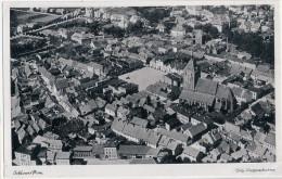 SCHLAWE Pommern Original Luftaufnahme Ungelaufen Slawno - Pommern