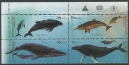 Argentinien 2001 Wale Zusammendruck 2678/81 ZD Postfrisch (C12010) - Argentinien