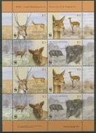 Argentinien 2002 WWF Säugetiere Kleinbogen 2749/52 K Postfrisch (C12020) - Argentinien