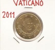*VATICANO - MONETA DA 50c (2011)* - Moneta Circolata