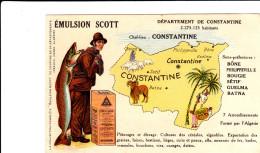 DEPARTEMENT DE CONSTANTINE PAR LES EMULSION SCOTT BON ETAT VOIR SCANS - Algérie