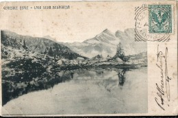 37268 ITALY CERESOLE REALE TURIN LAKE OF BELLAGARDA SPOTTED POSTAL POSTCARD - Unclassified