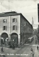 MODENA - PORTICI DEL  COLLEGIO - VIA  EMILIA-VIAGGIATA- ANIMATA - Modena