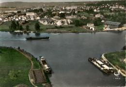CPA-1960-77-ST MAMMES-CONFLENT De La SEINE Et Du LOING-Les PENICHES-En Avion Au Dessus-BE - Autres Communes