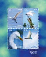 St. Vincent & The Grenadines-2015-Birds  Great Egret - St.Vincent E Grenadine