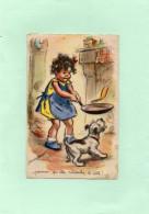 C2404 - Illustrateur Germaine BOURET - Pourvu Qu'elle Retombe à Côté !... - Bouret, Germaine