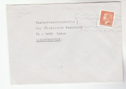 SWEDEN 1.70 Stamps COVER To Liechtenstein - Sweden