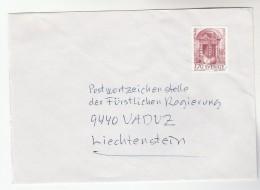 SWEDEN 1.70 EUROPA  Stamps COVER To Liechtenstein - Sweden