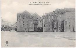 MEAUX - Inondations Des 25.26 Et 27 Janvier 1910 - Moulins Sur Pilotis - Meaux