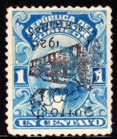 Ecuador 1926 1c Moreno With Quito RR Overprint Inverted. Scott 260. Unused. - Ecuador