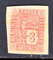 GERMANY  PRIVATE POST  BERLIN  ANSTALT  2N  *  THICK  PAPER - Private
