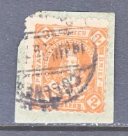 GERMANY  PRIVATE POST  KOLN  9  (o)  On Piece - Private