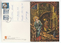 1976 SWEDEN Stamps COVER  (COMPLETE CHRISTMAS CARD) - Christmas