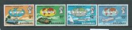 Bahamas 1970 Peace Goodwill Caravan Set Of 4 MNH - Bahamas (1973-...)